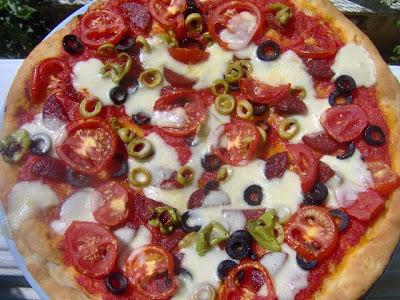 Dört Mevsim Pizzası tarifi