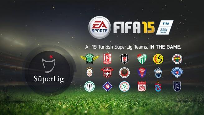 fifa 15 türk takımları