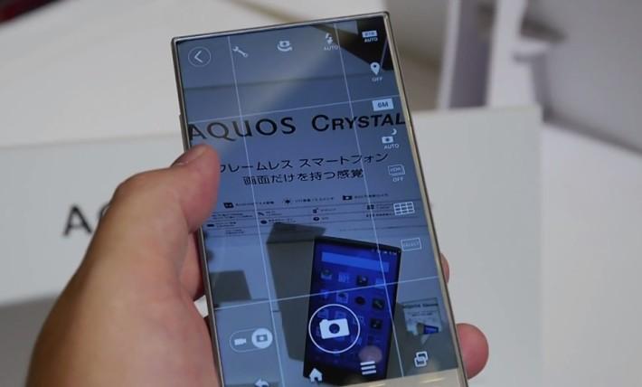 Sharp AQUOS Crystal özellikleri