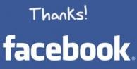 facebookta teşekkür et özelliği